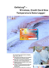 CellaLog - Wireless, Credit Card Size Temperature Data Logger Brochure