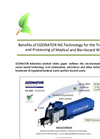 White Paper - OZONATOR NG Technology for Medical & Bio-hazard Waste Brochure