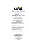 OZONE WASTE SOLUTIONS  North Carolina's First