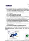 OZONATOR -Model NG-3000 and NG-1000 - Industrial Rate Machines Brochure