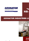 OZONATOR - Model NG-3000 - Medical and Bio-Hazard Waste Treatment Technology - Brochure