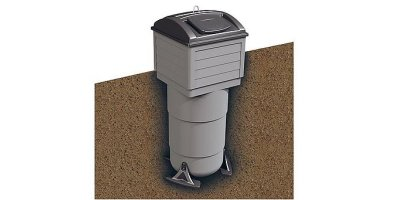 Molok Global Standard - Square Shaped Waste Container