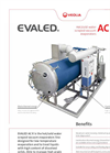 AC R Series Hot/Cold Water Scraped Vacuum Evaporators - Brochure