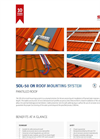 On Roof Mounting System SOL-50