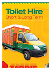 Toilet Hire Brochure