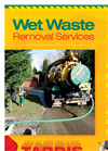 Wet Waste Removal Brochure