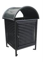 Sunperk - Model SPT-101 - Outdoor Trash Receptacle
