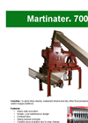 Martinator - Model 700 - Hammer Mill - Brochure