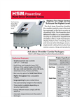 HSM Powerline - Model HDS 230 - Hard Drive Shredder - Datasheet