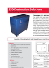 Model 300HD-SSD - Dual Purpose HDD/SSD Shredder - Datasheet