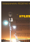 SolarPanels4u - HYLITE - Hybrid Wind & Solar Street Lights Brochure