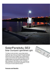 SolarPanels4u - SE2 - Solar Courtyard Light/Street Light Brochure