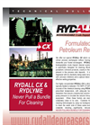RYDALL - CX - Crude Deposit Cleaner - Tech Sheet