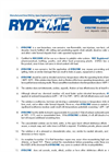 RYDLYME - Biodegradable Descaler - Specifications