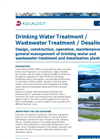 Drinking Water Treatment /Wastewater Treatment /Desalination Datasheet