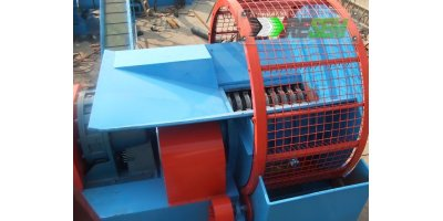 Semi Automatic Tyre Crushing Machine