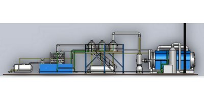 Model HA-40-PT Senior - Tyre Pyrolysis Plant