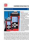 GX-2012 Confined Space Multi-Gas Monitor - Product Datasheet