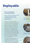 Flovac - Deployable Sewerage Systems Brochure