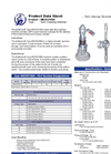 Butterworth - Model Type MICRO100A - Tank Cleaning Machine - Brochure