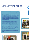 Jet pack - Model 60 - Van Mounted Jetters Trailers Brochure