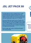 Jet Pack - Model JSL 80 - Single Axle Trailer Jetters Trailers Brochure