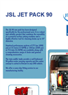 JSL JET PACK - Model 90 - Drain Cleaning Trailers Brochure