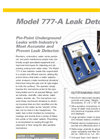 Model 777-A - Water Leak Detector Brochure