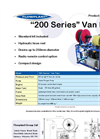 Van Pack - 200 Series - Drain Cleaning Unit Brochure