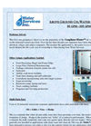 WSI - Model 50 GPM - 100 GPM - Above Ground Oil Water Separators - Brochure