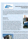 WSI - Model Over 1000 GPM - Above Ground Oil Water Separators - Brochure