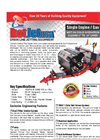 Hot Jet - Model HJ1SA1038HW - Single Axle Trailer Mounted Hot Water Sewer & Drain Line Jetters Brochure