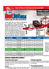 Model SKS23SA7400CWM - Single Axle Trailer Mounted Cold Water Sewer & Drain Line Jetter Brochure