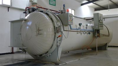Gient - Model MWC-1000x5 - Infectious waste treatment equipment -steam autoclave system