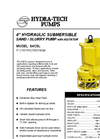 "Model S4CSL - 4"" Hydraulic Submersible Sand / Slurry Pump Brochure"