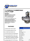 "Model S3TC - 3"" Hydraulic Submersible Utility Pump Brochure"