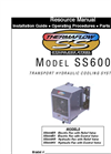 Thermaflow - Model SS600 - Frame Mounted Hydraulic Cooler Manual