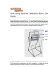 Quik Lining Systems Calibration Roller Owners Guide