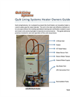 Quik Lining Systems Heater Owners Guide