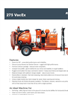 Ring-O-Matic - Model 550VX - Vacuum Excavator - Brochure
