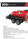 Model 850V - Vacuum Only Excavator - Brochure