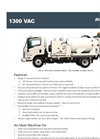 Vac Only - Model 1300 - Heavy Duty Industrial Vacuum Systems - Brochure