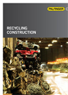 Recycling Products Catalog Brochure
