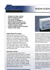 Monicon - Single Channel Gas Monitor - Brochure
