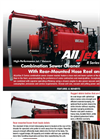 AllJetVac - R Series - Combination Sewer Cleaners - Brochure