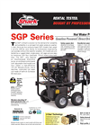 Portable Hot Water Pressure Washer SGP-302517