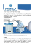 Model GMS - Chip Wringer / Centrifuge Brochure