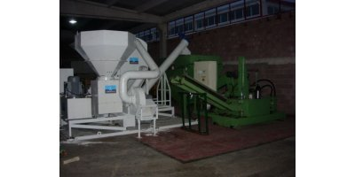 Vertical Axis Swarf Crusher