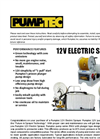 Electric Sprayer - Brochure