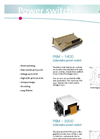PSM 1400 / 3200 - Power Switch Brochure